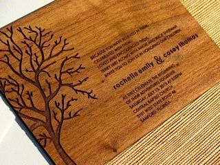 Tmx 1382197468631 Pbp Hirt Wood Invite Orlando wedding invitation