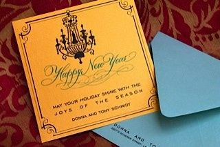 Tmx 1382197783555 Pbp Happy New Year Chandelier Orlando wedding invitation