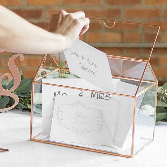 Personalized gift card holders