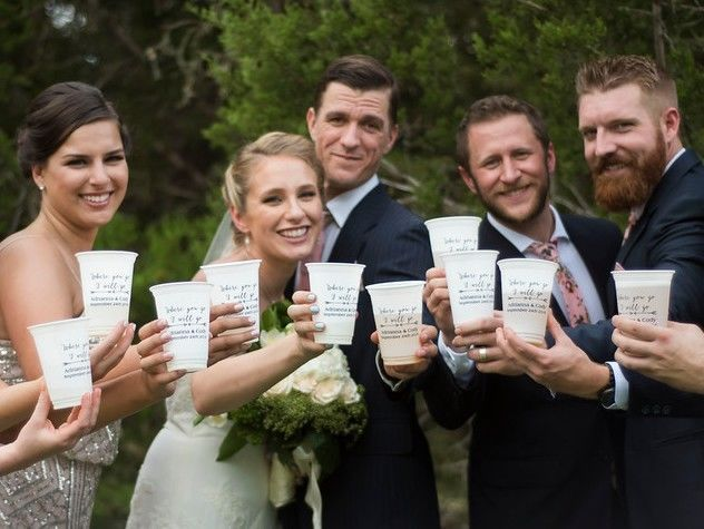 7e221fb7e64632d3 presonalized wedding cups bridal party