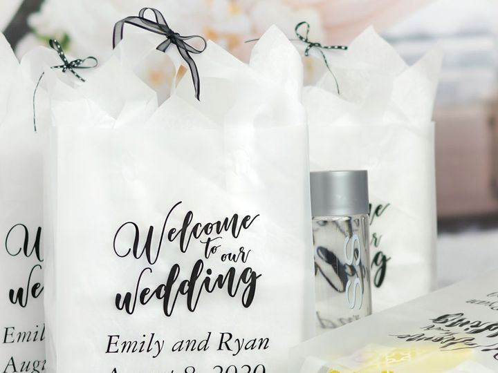 Tmx 1538686737 F950779a4eb48f61 1538686736 B897f07290abd36a 1538686734482 4 Clear Frosted Welc Willard, Ohio wedding favor