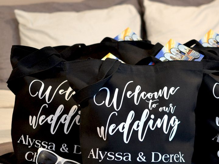 Tmx Black Canvas Wedding Welcome Gift Bags Lg 51 6178 Willard, Ohio wedding favor
