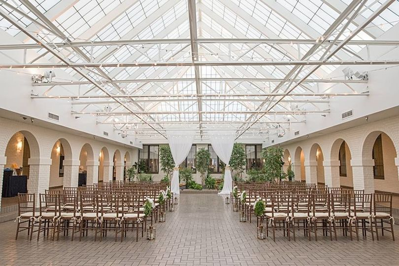 Indoor ceremony location