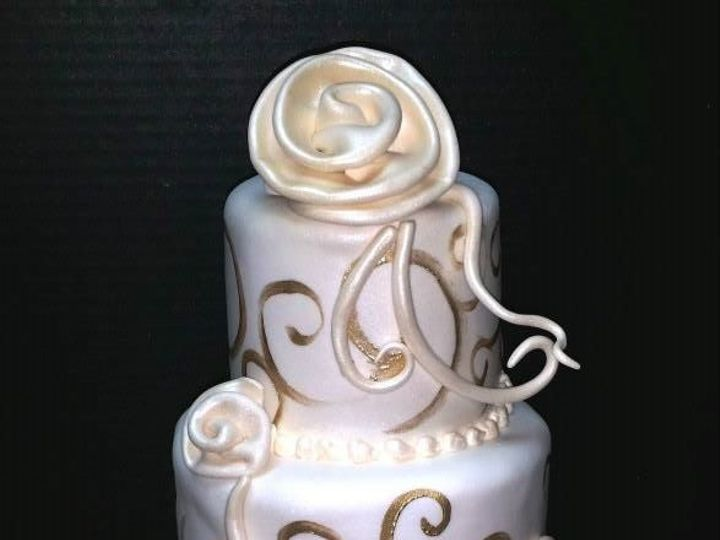 Tmx 1408552649125 1606894102018814292567396451340797913637744n Plainview, NY wedding cake
