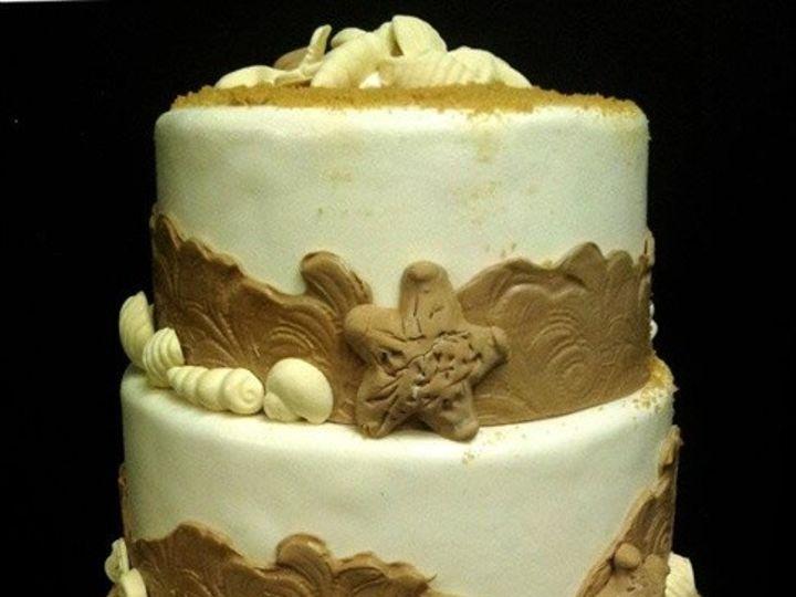 Tmx 1408552774552 Lg8af04dbeach Wedding Cake Waterview Plainview, NY wedding cake