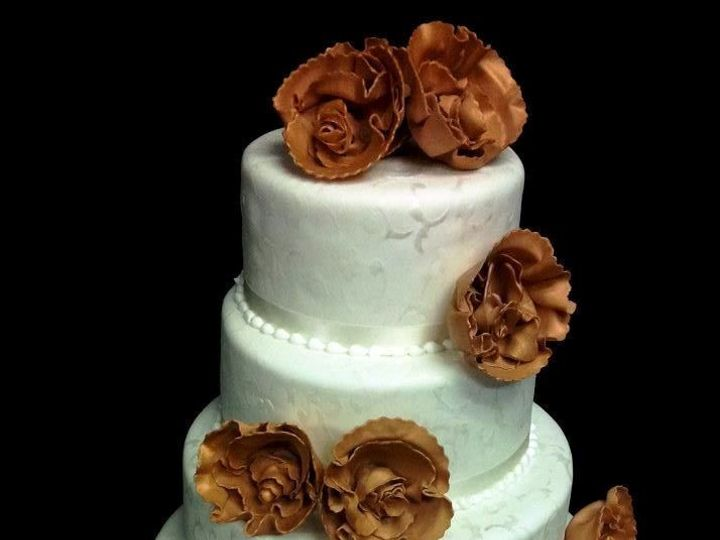 Tmx 1408552827735 Waterview Wedding March 13 Plainview, NY wedding cake