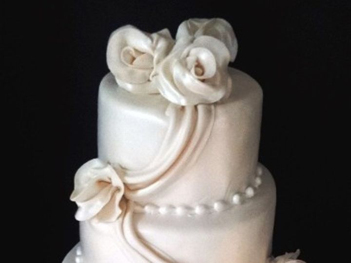 Tmx 1408552833416 Wedding Cake Akbaru Plainview, NY wedding cake