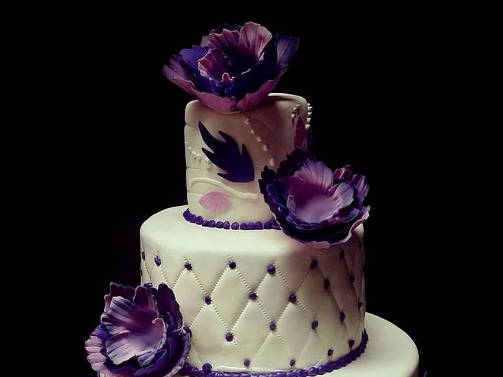 Tmx 1408558661072 V Z Wedding Cake Aug14 Plainview, NY wedding cake