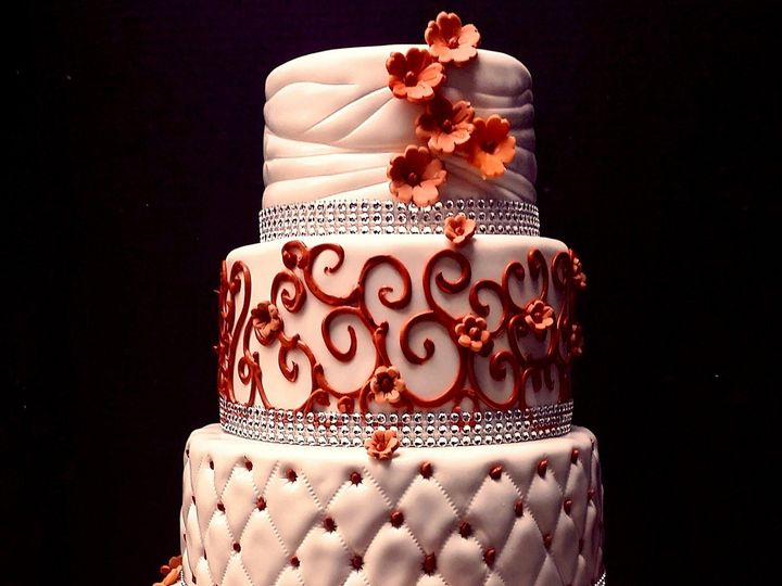 Tmx 1408558665501 Wedding Cake 0814 Orange Plainview, NY wedding cake