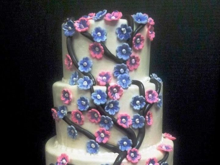 Tmx 1408560161531 Vz Plainview, NY wedding cake