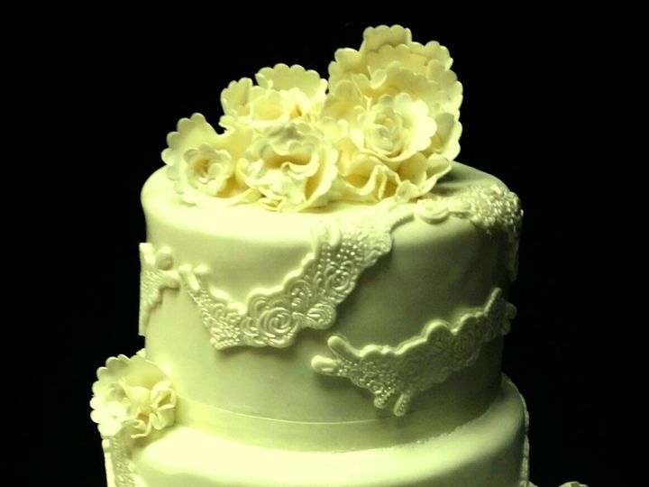 Tmx 1408565137170 Wedding Cake 030814 Plainview, NY wedding cake