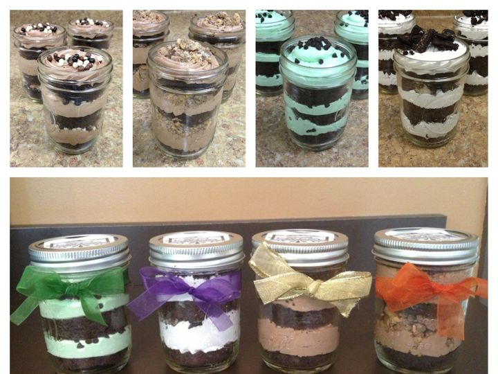Tmx 1408565482882 Cupcakes In A Jar Picuuuuuuuuu Plainview, NY wedding cake