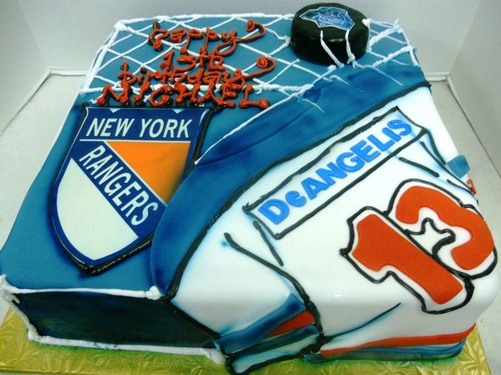 Tmx 1408565702266 Rangers Cake Plainview, NY wedding cake