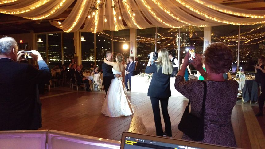 Father Daughter Dance Liberty House, Jersey City Wedding