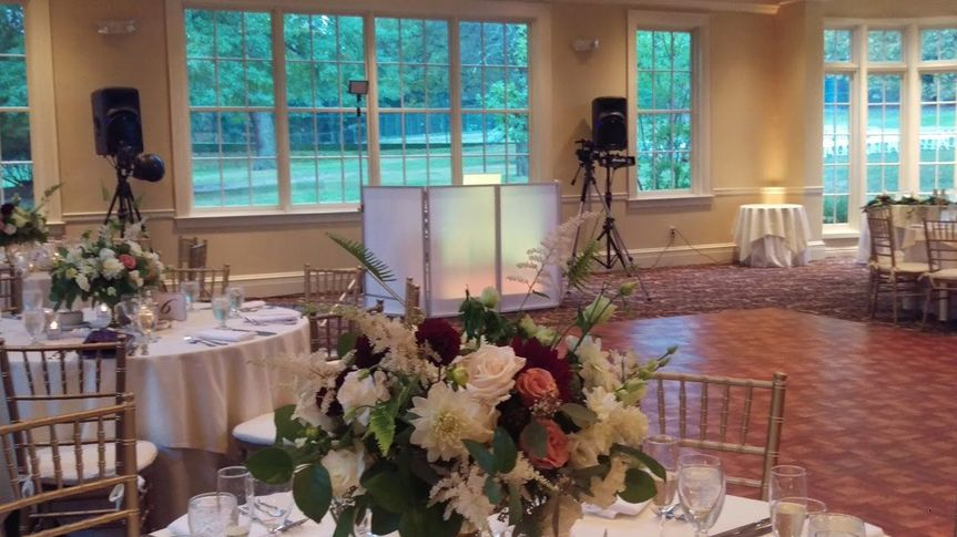 Orange Lawn Tennis Club Basic Wedding Setup