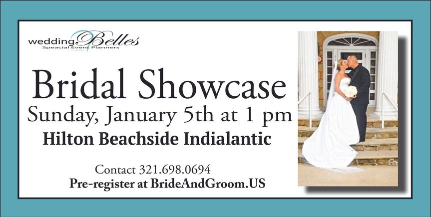 First bridal show of 2014 in Brevard County, Florida.  Connecting the future Mr. and Mrs. to wedding...