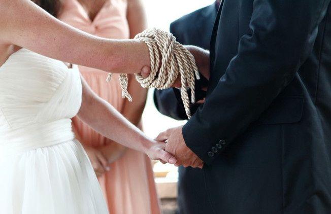 Tying of hands ceremony