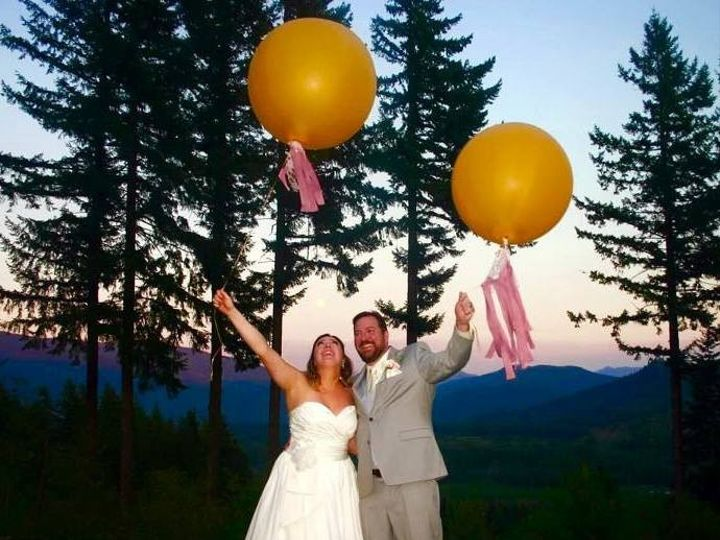 Tmx 1459526312594 Balloons And Sunset At The Hilltop Ariel wedding venue