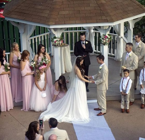 During the wedding