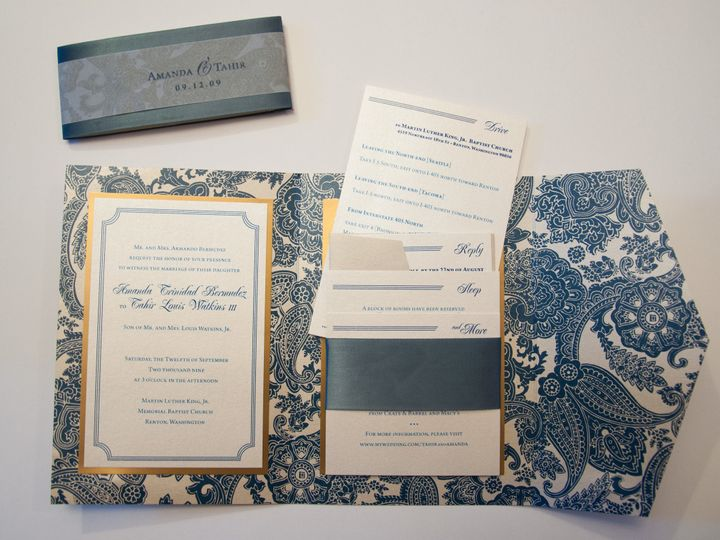 Tmx 1512755346416 Dsc0051 Seattle, WA wedding invitation