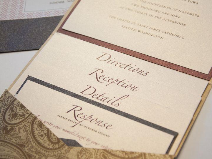 Tmx 1512755439209 Dsc0138 Seattle, WA wedding invitation