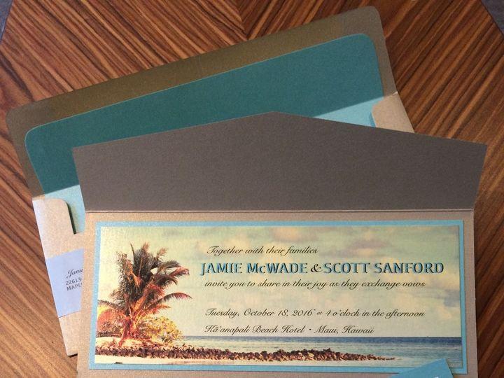 Tmx 1512755651173 Sanford1 Seattle, WA wedding invitation