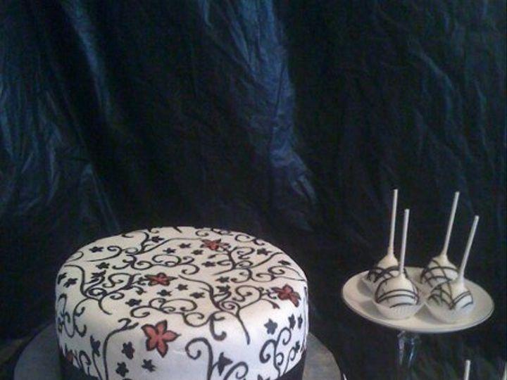 Tmx 1313954454143 Blackandwhite1 Wentzville wedding cake