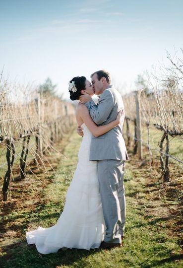 Winter Wedding at King Family Vineyards. Photo Credit: Sarah Cramer