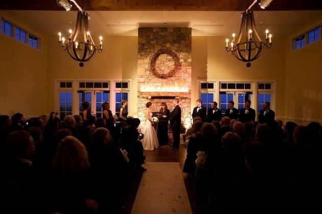 indoor wedding king family vineyards