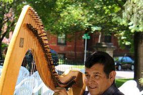 Harpist - Reuben Correa Music