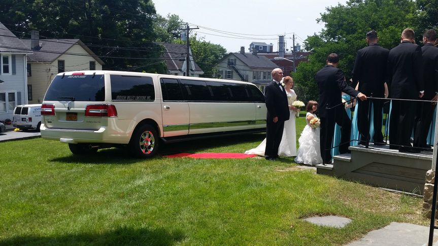 Wedding ceremony starts