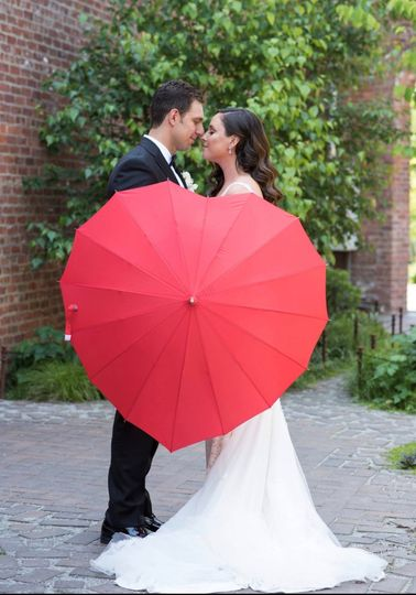 Heart parasol