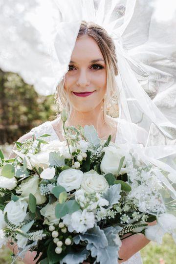 Windy bride