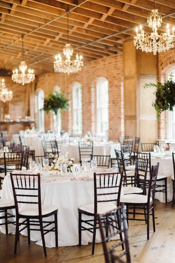 Reception hall | Kelsey Nelson Photography