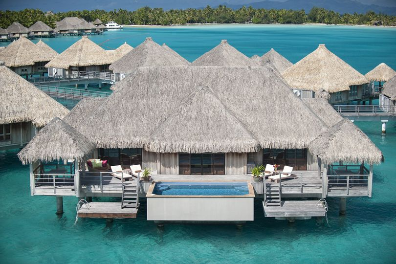 Honeymoon in a luxury overwater villa at the St Regis Bora Bora Resort | Honeymoons by Tahiti.com