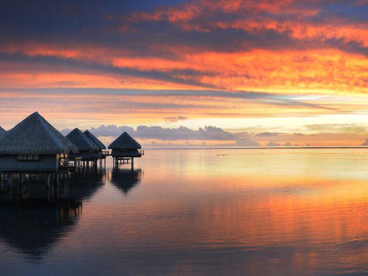 Tmx 1467129583510 Pptlmt Tahiti Lemeridien Su Santa Ana wedding travel