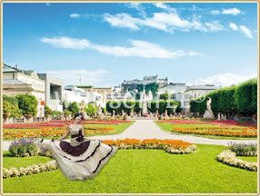 Bridal Shooting in the fairytale setting of Salzburg  credit: fotolia