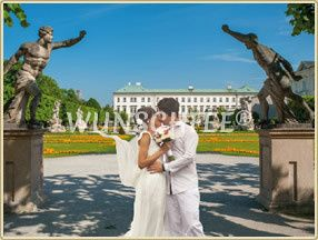 Romantic summer wedding in Salzburg  credits: Wunschfee, fotolia