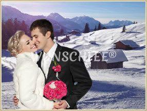 Fairytale Winter Wedding in Salzburg  credits: Wunschfee, fotolia