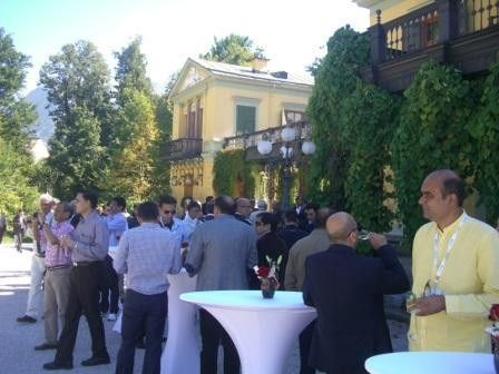 Corporate Event for Indian Bank in Imperial Austria  credit: Wunschfee