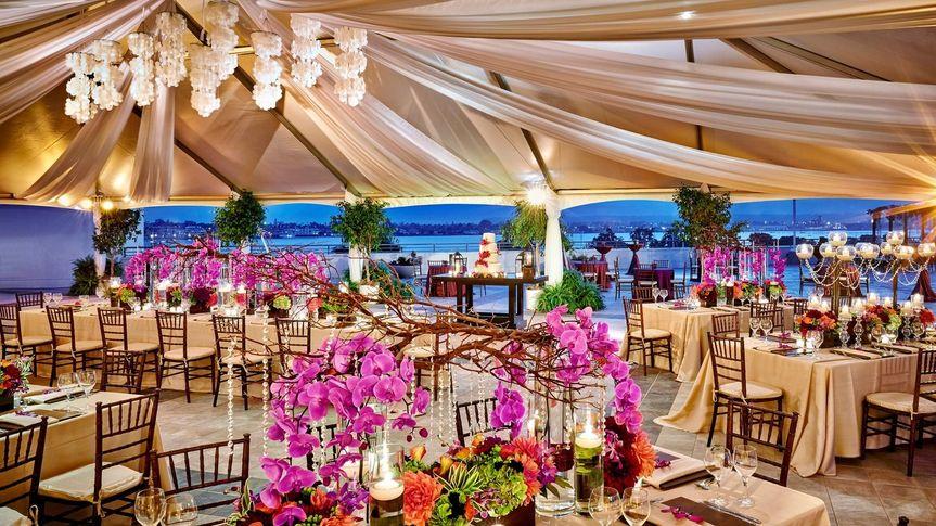 An event on the Coronado Terrace
