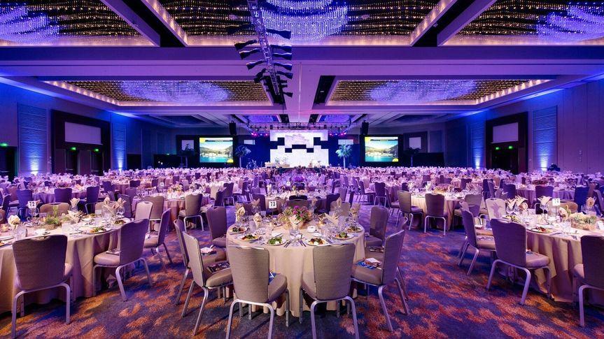 A banquet layout