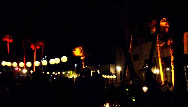 Outdoor Wedding and Lighting