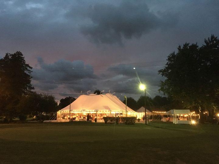 Evening tent