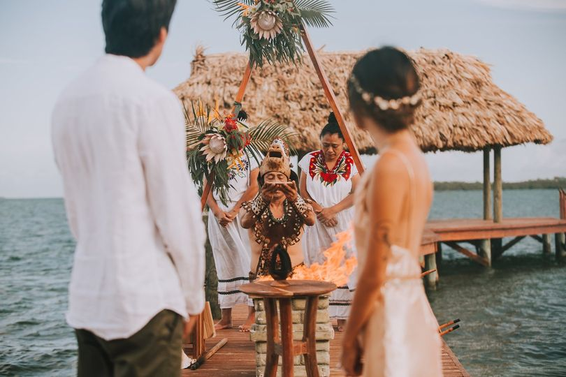 Mayan Beach Wedding