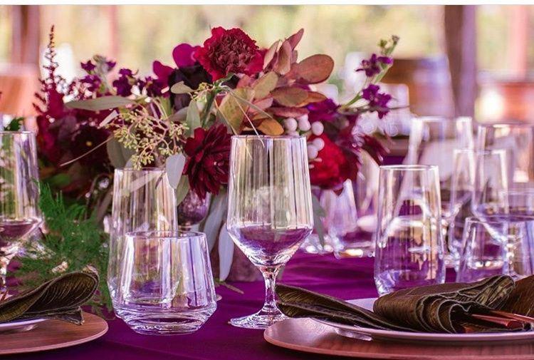 Poplar Hill table set up