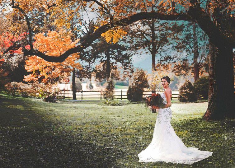 Bride at Poplar Hill