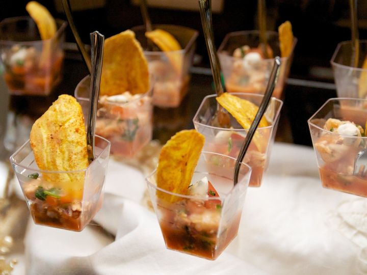 Tmx 1372787246688 Shrimpcevicheplantainchip1 057 Evanston wedding catering