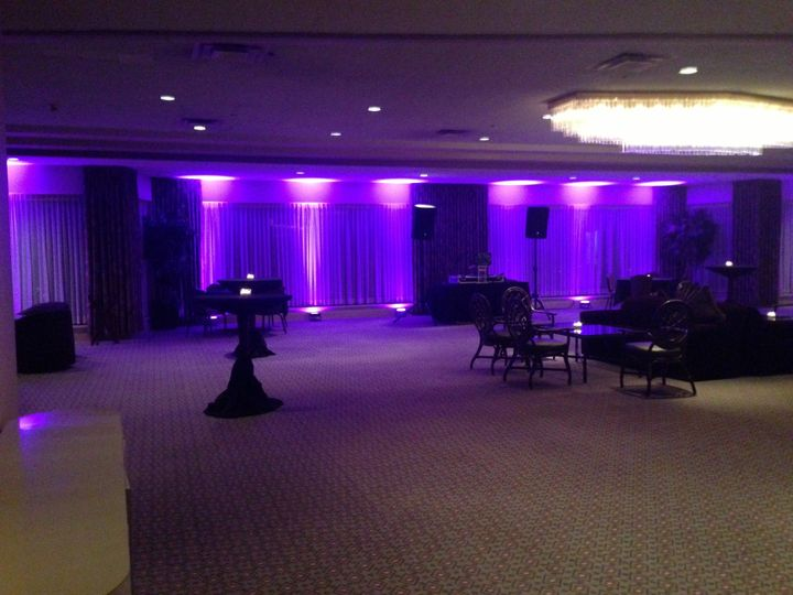 Uplighting really can change the tone of your event. Take a look for yourself