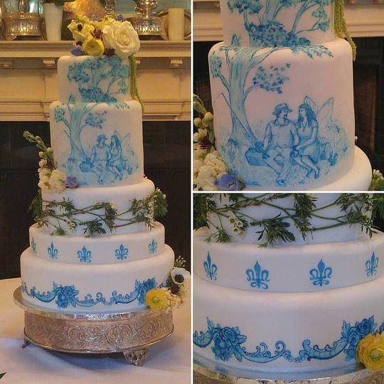 crisp cake
